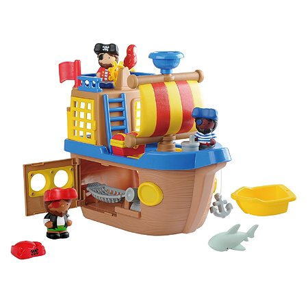 Набор игровой Playgo Пиратский корабль Play 9840