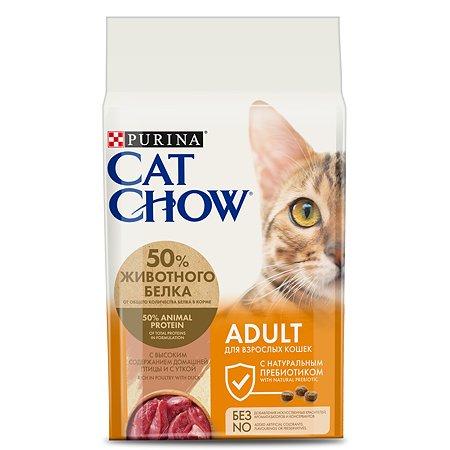 Корм сухой для кошек Cat Chow 1.5кг с уткой