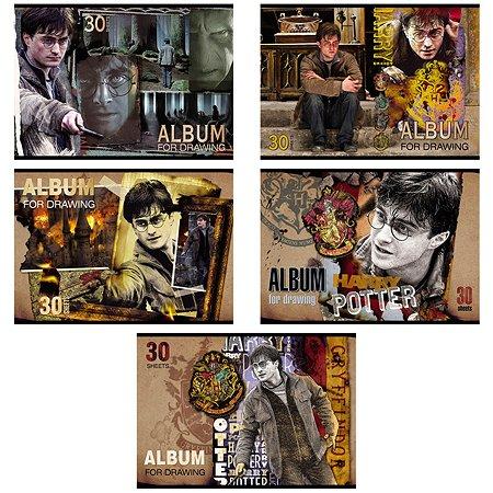 Альбом для рисования Hatber Гарри Поттер А4 30л в ассортименте 062243