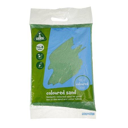 Песок для песочницы ELC 5кг Зеленый 137380