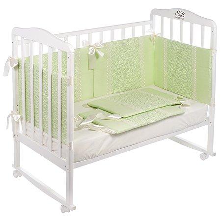 Бортики Sweet Baby Fiore 6частей Verde Светло-зеленый