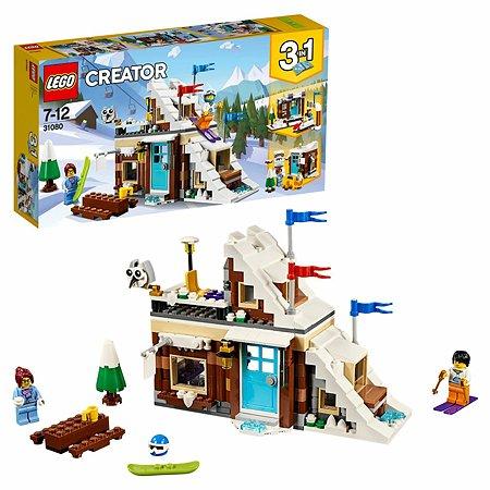 Конструктор LEGO Зимние каникулы (модульная сборка) Creator (31080)