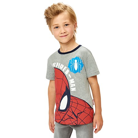 Футболка Spider-man серая