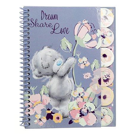 Записная книжка Kinderline Me To You с цветными разделителями 60л MYFS-UA1-5037