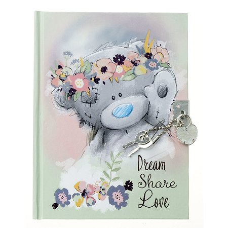 Записная книжка Kinderline Me To You с замком-сердечко 60л MYFS-UA1-32081-W