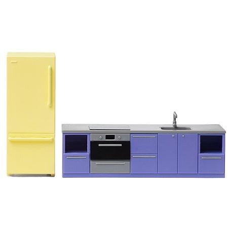 Мебель для домика Lundby для кухни базовая 2предмета LB_60305500