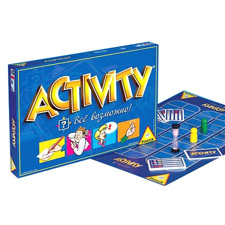 Настольная игра Piatnik Activity(Активити)  — Всё возможно!