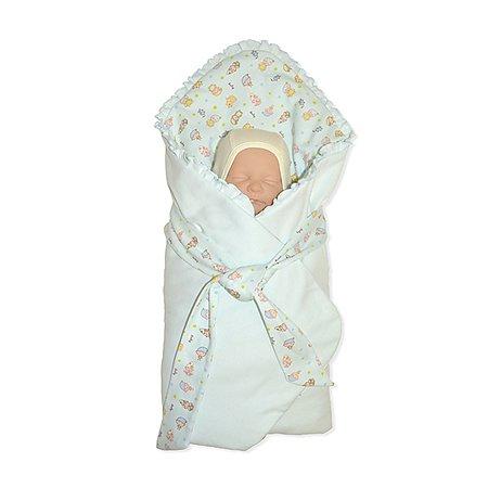 Конверт-одеяло на выписку ОТК трансформер  90х90 см в ассортименте