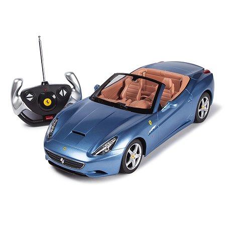 Машинка р/у Rastar Ferrari California 1:12 голубая