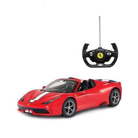 Машина на радиоуправлении Rastar Ferrari 458 1:14 Красная