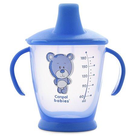 Чашка-непроливайка Canpol Babies Медвежонок 9 мес+ 180 мл в ассортименте