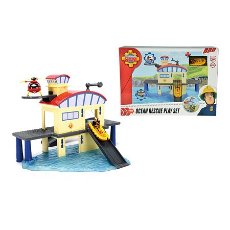 Морской гараж Fireman Sam и лодка