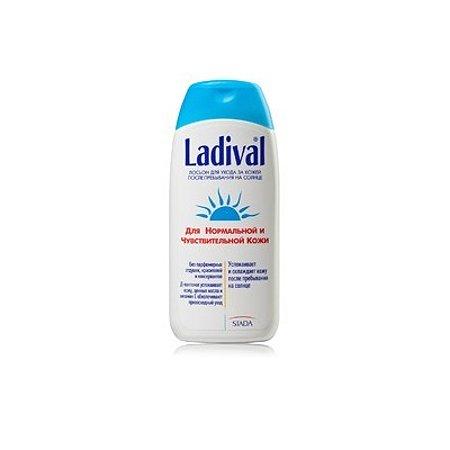 Лосьон после пребывания на солнце Ладиваль для нормальной и чувствительной кожи 200 мл