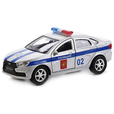 Машина Технопарк LADA Веста Полиция 12 см