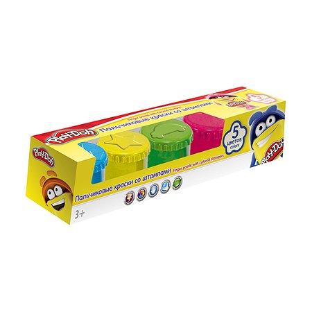 Краски пальчиковые Play-Doh 5 цв.