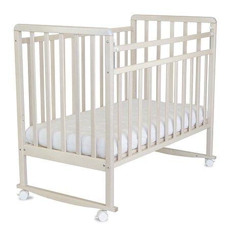 Кровать детская Babyton колесо-качалка Береза снежная