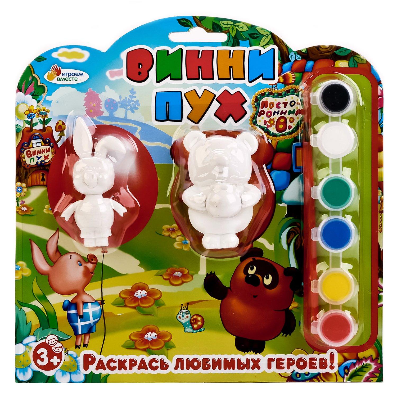 Набор-раскраска Играем вместе Винни Пух - купить в ...