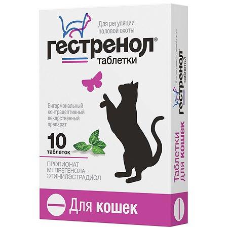 Контрацептив для кошек Астрафарм Гестренол 10таблеток