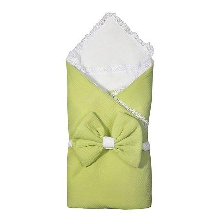 Комплект на выписку BabyEdel 4предмета Салатовый-Молоко 11231