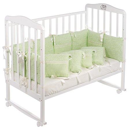 Бортики Sweet Baby Luce 12частей Verde Светло-зеленый