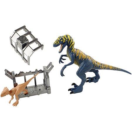 Фигурка Jurassic World Велоцираптор и Микроцератопс FTD13