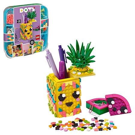 Набор для творчества LEGO DOTS Подставка для карандашей Ананас 41906