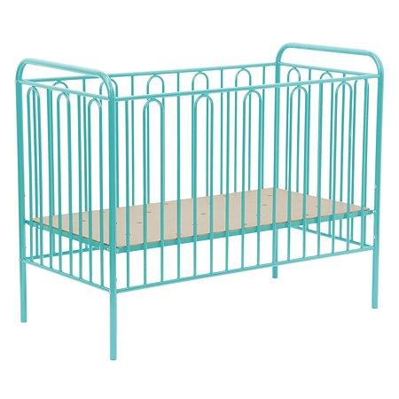 Кроватка детская Polini kids Vintage 110 Бирюзовый