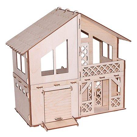 Конструктор PAREMO Дачный дом с гаражом 90элементов PD218-07