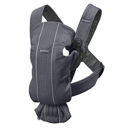 Рюкзак для переноски ребенка BabyBjorn Mini Mesh Антрацит