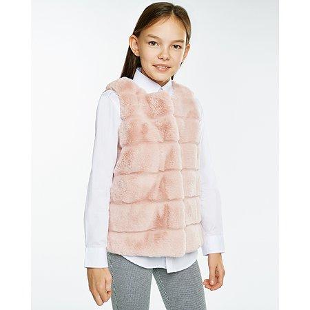 Жилет Futurino Fashion бежевый