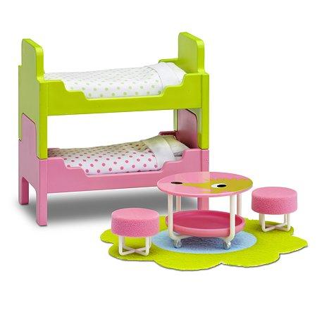 Мебель для домика Lundby Смоланд Детская 12предметов LB_60209700