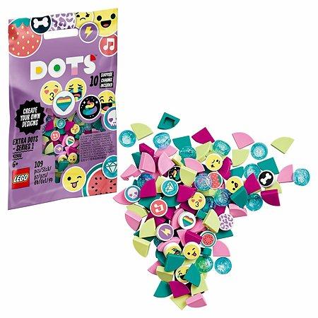Набор для творчества LEGO DOTS дополнительные элементы 109деталей 41908