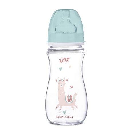 Бутылочка Canpol Babies Toys 300мл c 12месяцев Зеленая 250989199