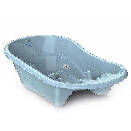 Ванночка KidWick Лайнер с термометром Голубая