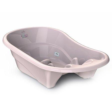 Ванночка KidWick Лайнер с термометром Розовая
