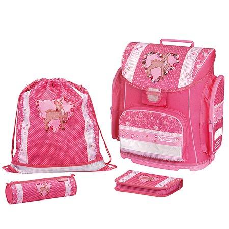 Ранец Herlitz Schoolbag Midi Plus Heart Fawn