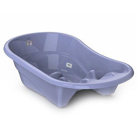 Ванночка KidWick Лайнер с термометром Фиолетовая