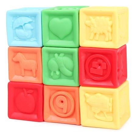 Кубики развивающие Baby Go 9шт ZY211780
