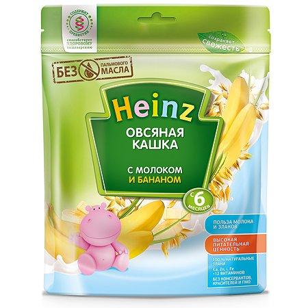 Каша Heinz молочная овсяная с бананом 250г с 6месяцев