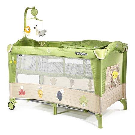 Манеж-кровать Babyton Dreamy Green P610