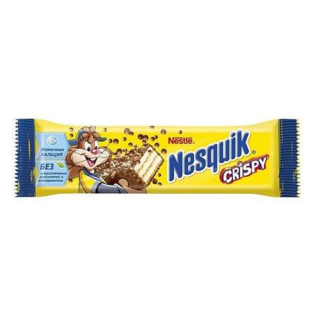 Батончик вафельный Nesquik Crispy 22г
