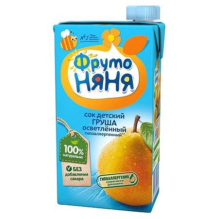 Сок ФрутоНяня из груш 0,5 л от 3 лет