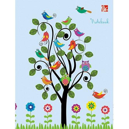 Книга для записей А6 Listoff Дивный сад   48 листов