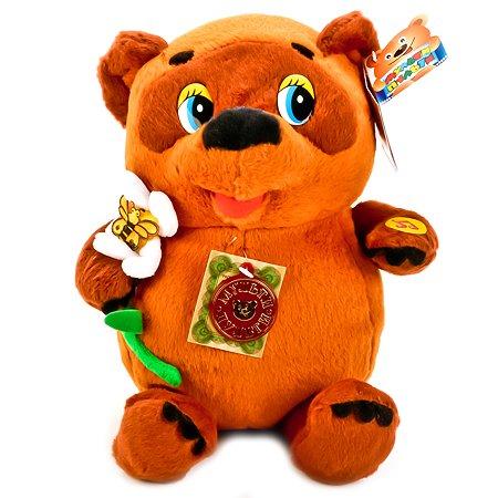 Мягкая игрушка Мульти-Пульти Винни Пух с цветком