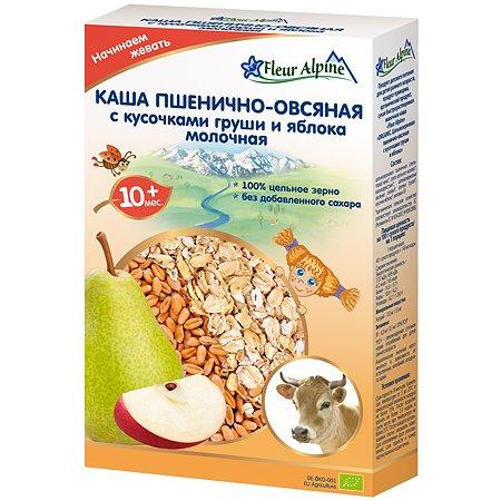 Каша Fleur Alpine пшенично-овсяная груша-яблоко 200г с10месяцев