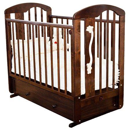 Кровать детская Красная Звезда (Можга) Агата С719 Шоколад