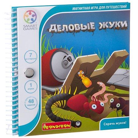 Магнитная игра Bondibon Деловые жуки (дорожная)