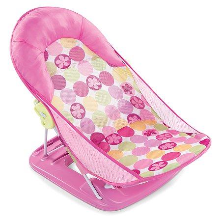 Лежак для купания Summer Infant Deluxe Baby Bather с подголовником Розовый