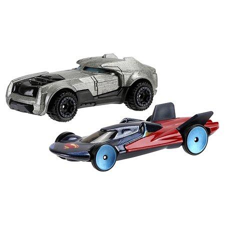 Набор машинок Hot Wheels Бэтмена и Супермена ( 2 шт)