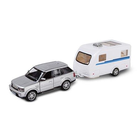 Машина с домом Mobicaro Land Rover Caravan 1:32